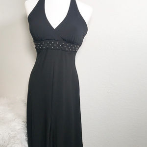 Blondie Nites Black studded Size 5 Dress